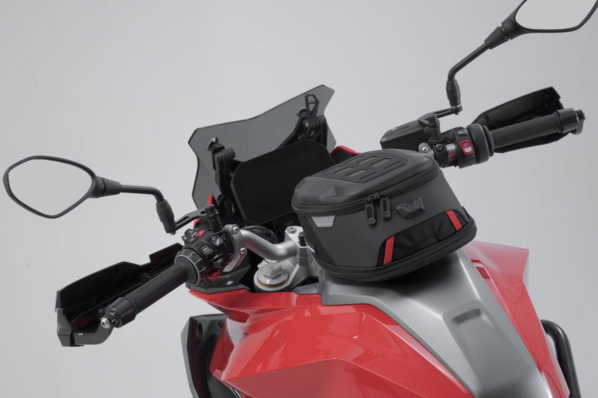 SW-Motech ION one Motorrad Tankrucksack Set Ducati Supersport //S NEU!