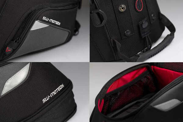 EVO Micro tank bag 2.5-5 l. For EVO tank ring. Black/Grey.