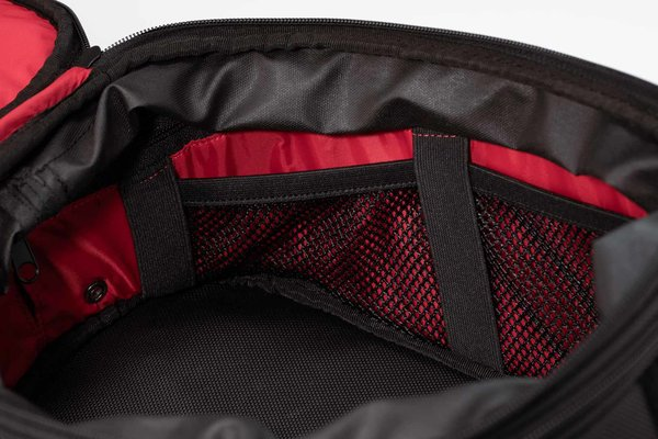EVO Enduro strap tank bag 13-22 l. Ballistic Nylon. Grey/Black.