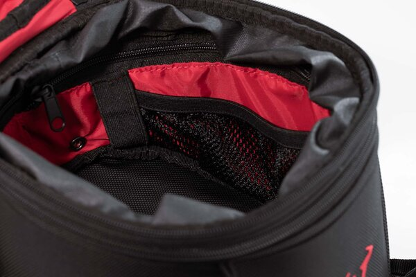 EVO Enduro LT strap tank bag 5-7.5 l. Ballistic Nylon. Black/Grey.