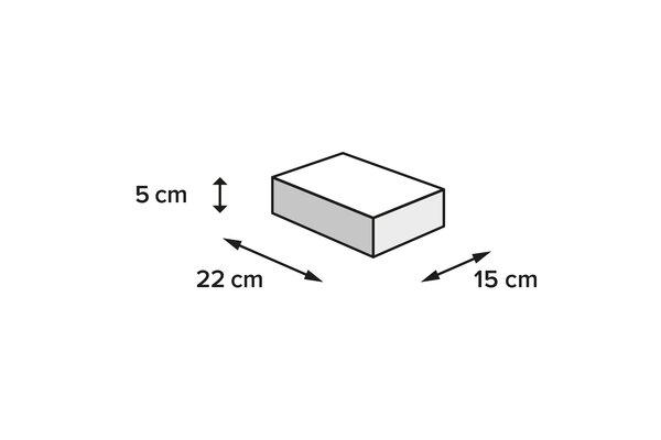 PRO Pocket 1680D Ballistic Nylon. Schwarz. 1 l.