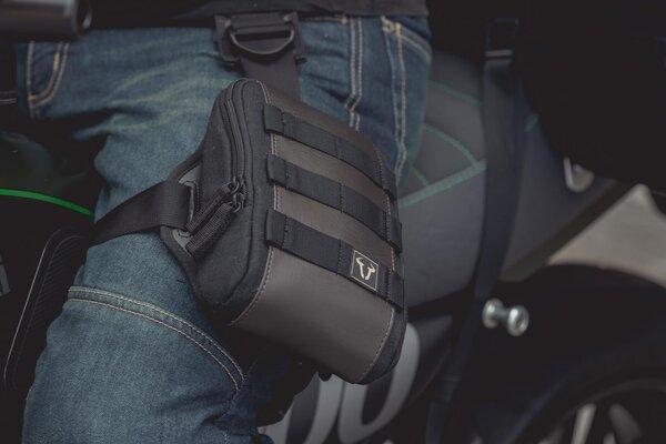 Legend Gear set di borse da gamba con LA1 Fondina LA7 con LA1. 0,8 l. Nero/Marrone.
