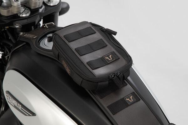 Legend Gear Tankriemen-Set BMW R nineT-Modelle (14-). Mit Zusatztasche LA2.