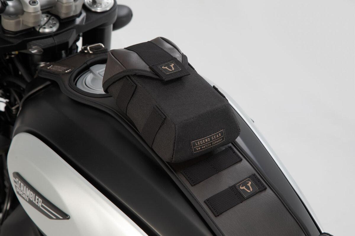 Sw-Motech Regenhaube Für Legend Gear Zusatztasche LA1.