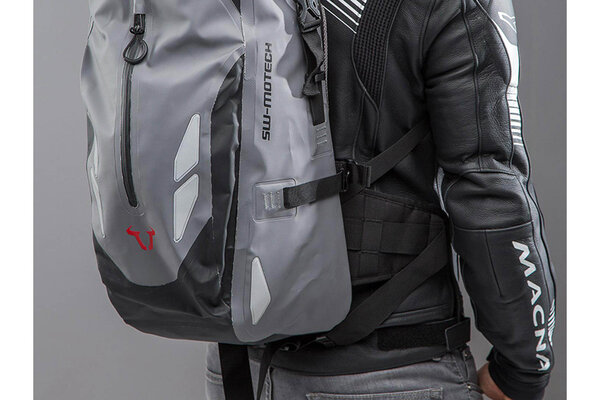 Baracuda backpack 25 l. Grey/black. Waterproof.