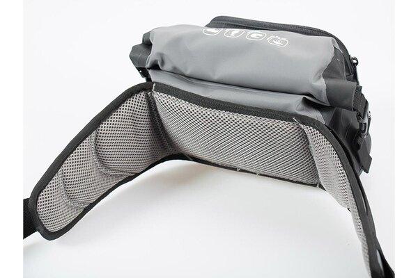 Drybag 20 Gürteltasche 2 l. Grau/Schwarz. Wasserdicht.