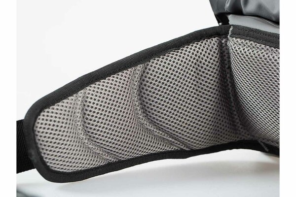 Sacoche de hanche Drybag 20 2 l. Gris/Noir. Étanche.