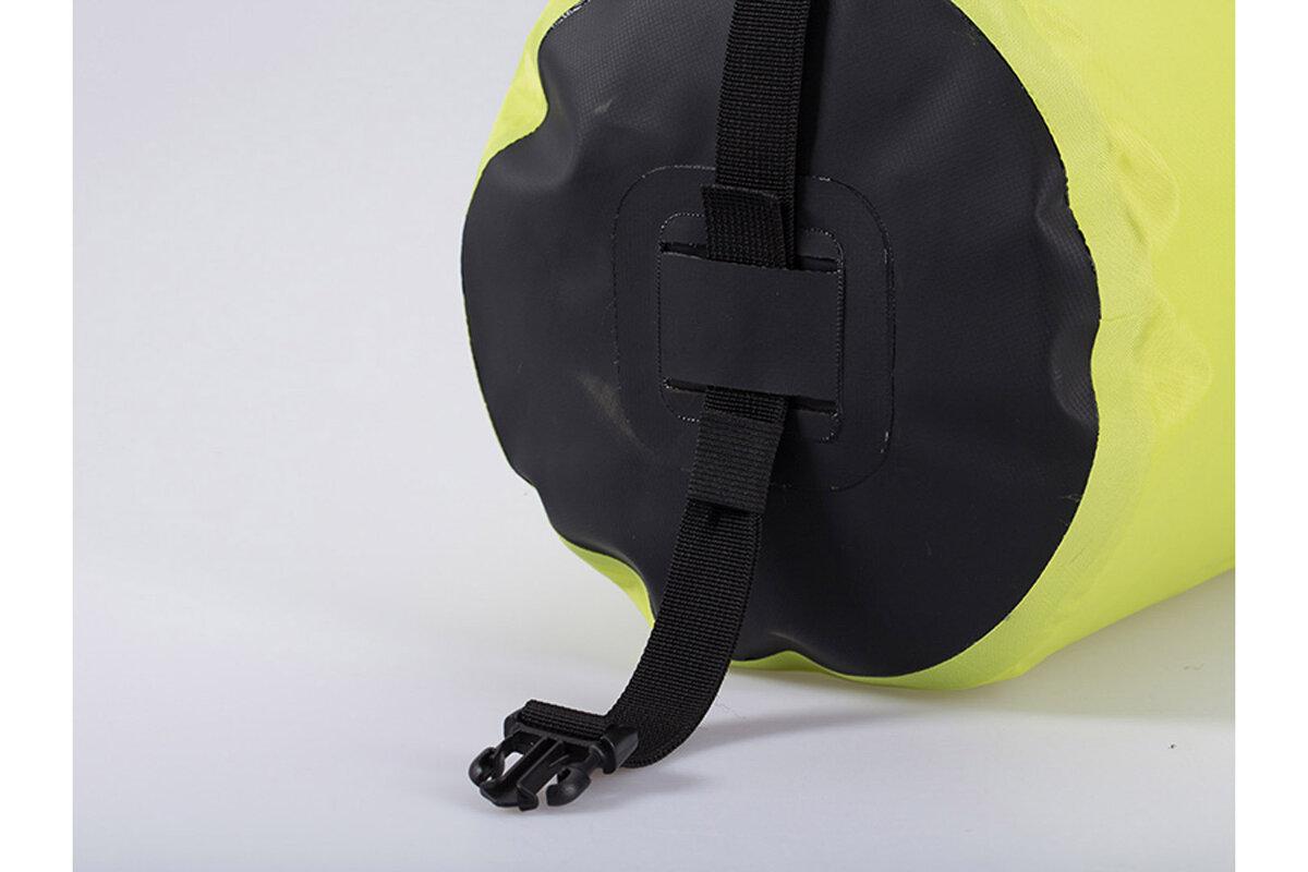 Triathleten Sicher gesehen Werden Zwei Luftkammern HUT Premium Schwimmboje Dry Bag 20L//28L Abschlepp- und wasserdichte Trockentasche f/ür Schwimmer Schwimmboje mit hoher Sichtbarkeit