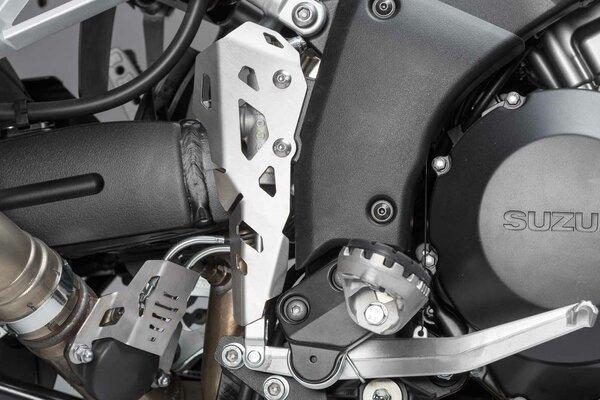 Bremspumpen-Schutz Silbern. Suzuki V-Strom 1000 (14-19).