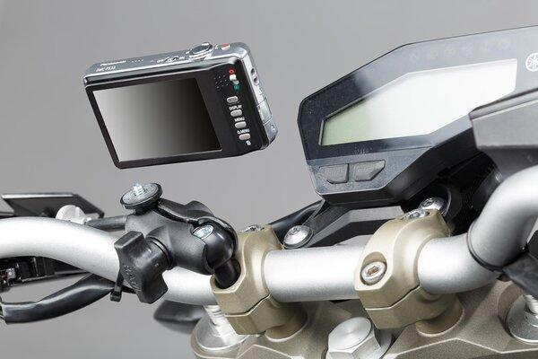 """1"""" Kugel mit Aufnahme für Kamera Für RAM Arm. Kamera-Gewinde. Schwarz."""