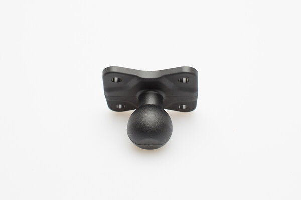 "1"" ball for GPS mount For RAM arm. Black."