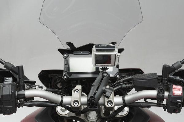 """Kit videocamera GoPro universale Inclusi sfera da 1"""", braccio RAM, attacco GoPro."""