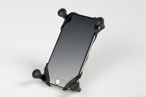 RAM X-Grip clamp for smartphones Incl. ball for RAM arm. Devices 2.2-8.2 cm width.