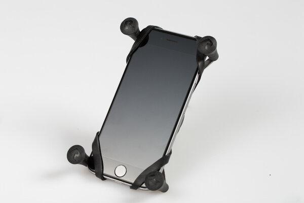 RAM X-Grip Klemme für Smartphones Inkl. Kugel für RAM Arm. Gerätebreite 2,2-8,2 cm.