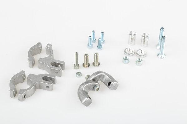 EGO Handprotektoren-Kit Schwarz. Inklusive Anbausatz für 22mm Lenker.