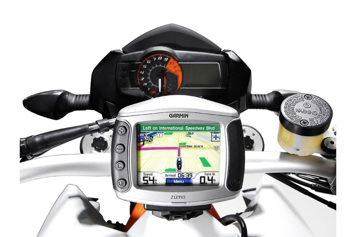 Removable bracket for satnav / GPS devices, with QUICK-LOCK