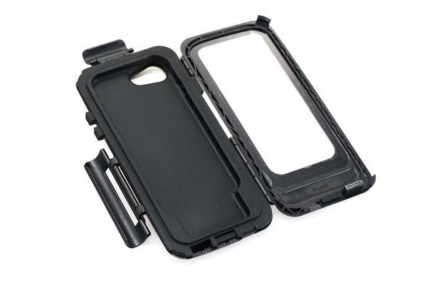 Custodia rigida per iPhone 7/8 Per supporto navigatore. Antispruzzi. Nero.