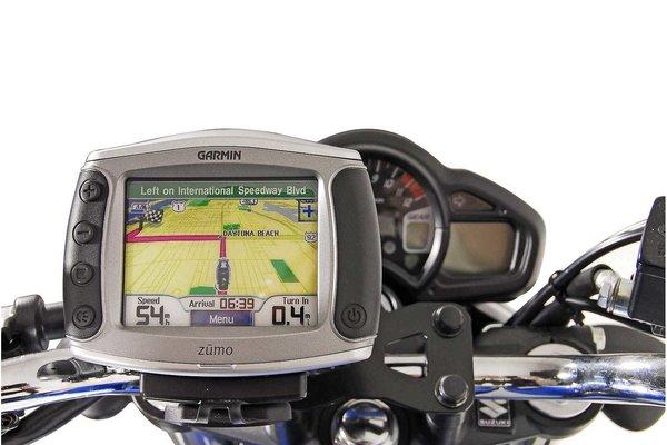 Support GPS  Noir. Modéles Honda, Suzuki SFV 650 (09-16).
