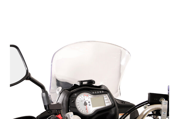 Soporte de GPS QUICK-LOCK Negro. Suzuki DL 650 V-Strom (11-16).