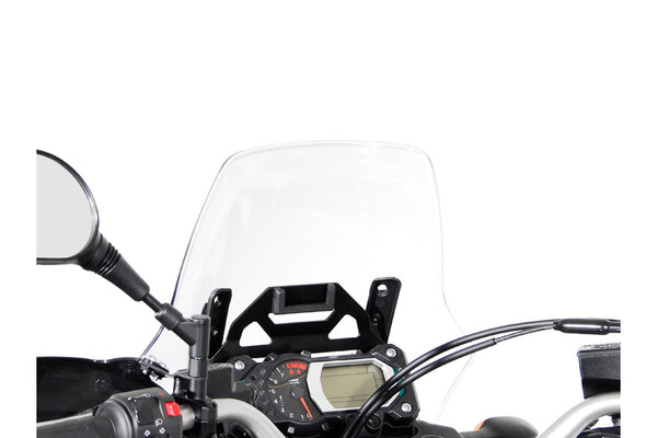 Navi-Halter im Cockpit Schwarz. Yamaha XT1200Z Super Ténéré (10-13).