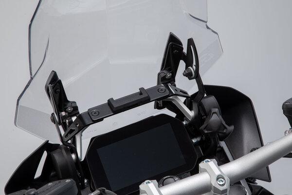 GPS mount for cockpit Black. BMW R1200GS (12-), R1250GS (18-).