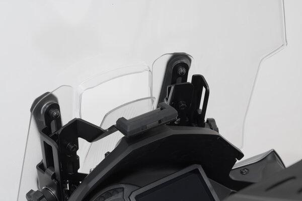 Support GPS pour cockpit Noir. Kawasaki Versys 1000 (18-).