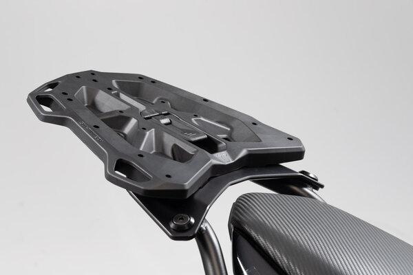Adapterplatte für STREET-RACK Gepäckträger Für TRAX Topcase ADV/ION/EVO. Schwarz.