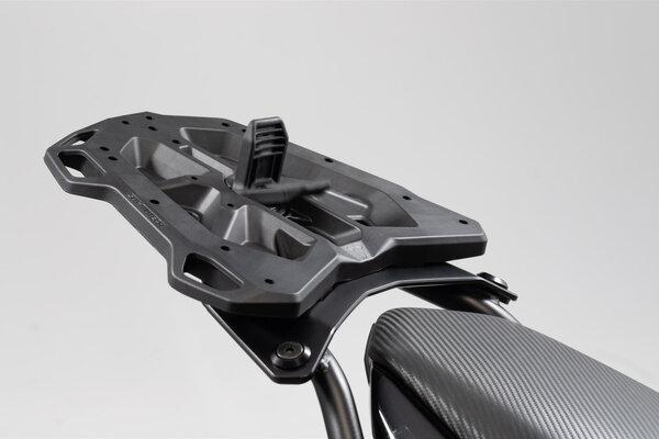 Adapterplatte für STREET-RACK Gepäckträger Für Krauser K-Wing, Hepco&Becker C-Bow. Schwarz.