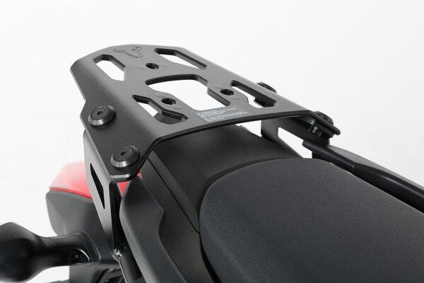 TRAX ADV Topcase-System Silbern. Honda NC700S/X (11-14),NC750S/X (14-15).