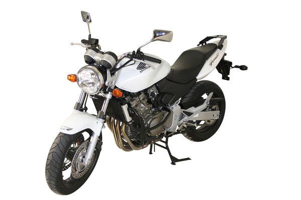 Porte-bagages ALU-RACK Noir. Honda CB600F (98-06) / CB600S (99-06).