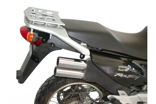ALU-RACK Gepäckträger Silbern. Honda XL125V / XL650V / XL1000V / XRV750.