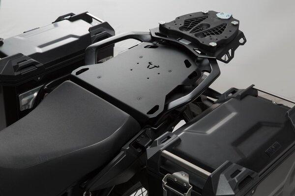 Portabagagli per sellino posteriore SEAT-RACK Nero. Honda CRF 1000 L Africa Twin (15-17).