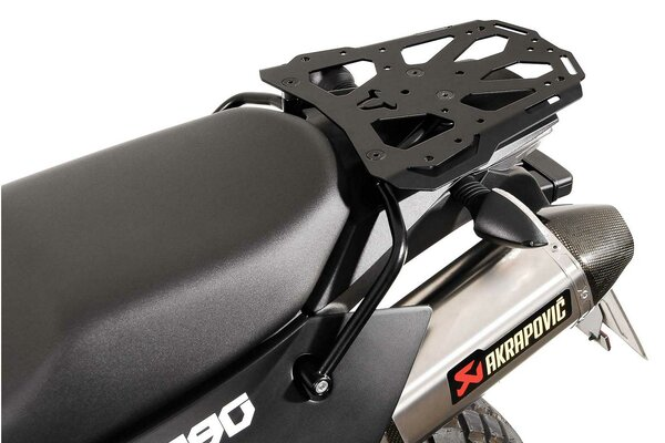 STEEL-RACK Negro. KTM LC8 950-990 Adventure.