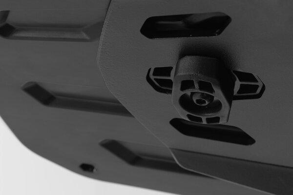 URBAN ABS Topcase-System Schwarz. Suzuki DL650 / V-Strom 650 XT (11-16).