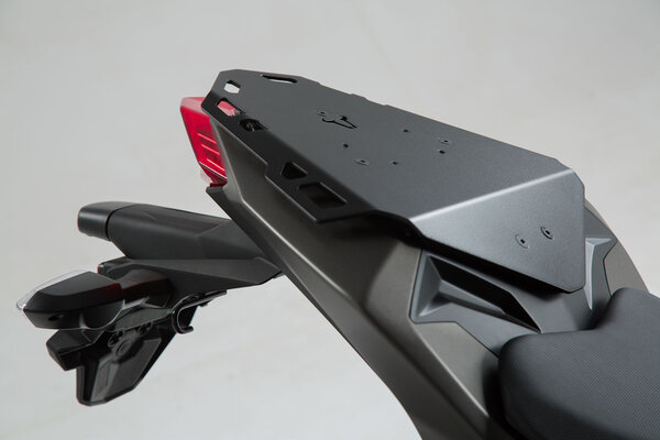 Portabagagli per sellino posteriore SEAT-RACK Nero. Kawasaki Z 300 (15-).