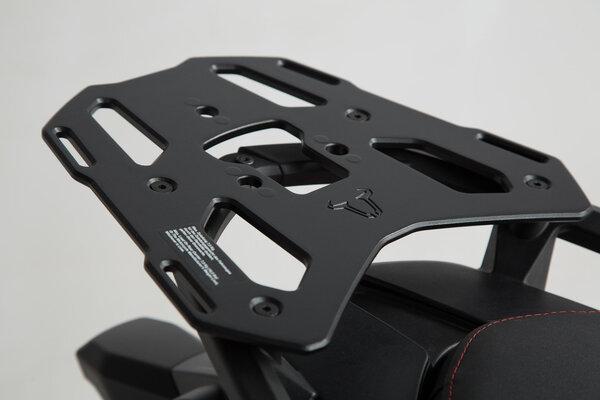 TRAX ADV Topcase-System Schwarz. Ducati Multistrada 1200/S, Hyperstrada.