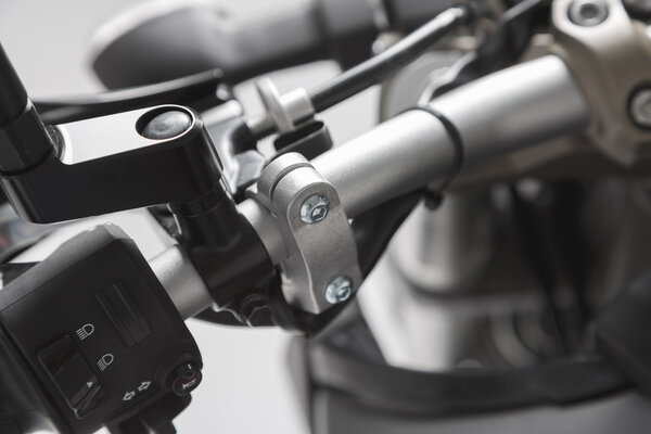 BBSTORM Handprotektoren-Kit Schwarz. Yamaha MT-09 (13-) / XSR700 (15-).