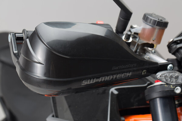 BBSTORM Handprotektoren-Kit Schwarz. KTM 1290 Super Duke R (13-).