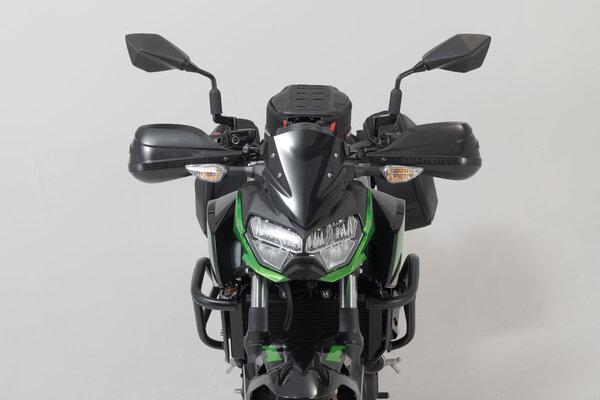 BBSTORM Handprotektoren-Kit Schwarz. Für Lenkerinnengewinde 6mm / 8mm.