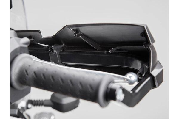Kit de protectores de manos KOBRA Negro. Para modelos específicos.