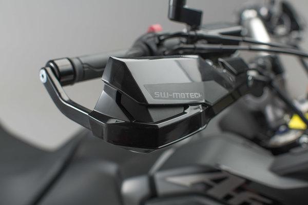 KOBRA Handprotektoren-Kit Schwarz. Honda CRF1000L Africa Twin (15-).