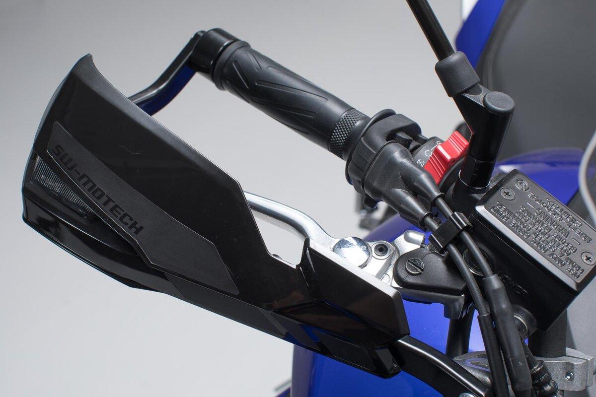 Artudatech Handlebar Hand Guard Wind Protector w//Turn Indicator Light For Yamaha MT 07 09