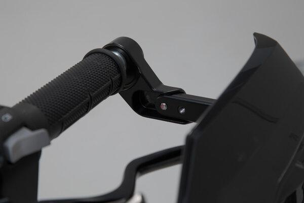 """KOBRA Handprotektoren-Kit Schwarz. Für hohle Lenker. 22mm (7/8"""") bis 1 Zoll."""