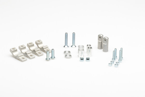 KOBRA Handprotektoren-Kit Schwarz. XRV750/KLR650/XT600/XT660/DR/CRF250L.