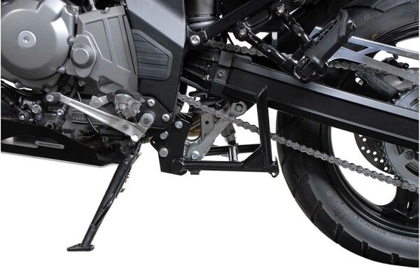 Béquille centrale  Noir. Suzuki DL 650 V-Strom (03-10).