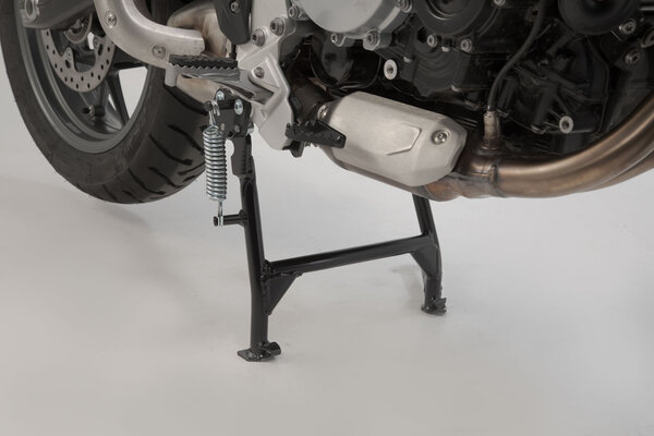 Centerstand Black. BMW F 750 GS (17-) with BMW lowering.