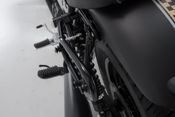 SLC Seitenträger links Moto Guzzi V9 Roamer/Bobber (15-).
