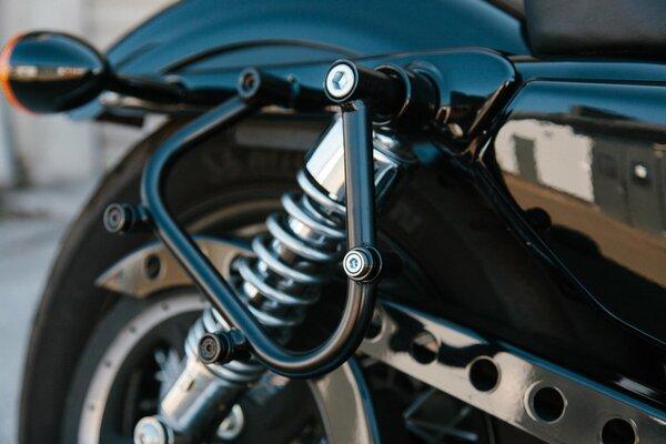 SLC Seitenträger links Harley Sportster Modelle (04-).