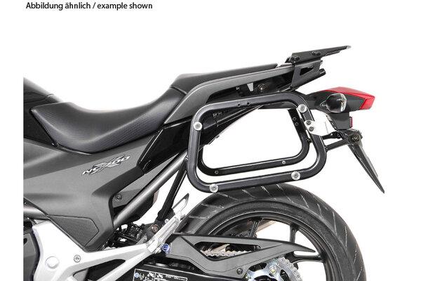 TRAX ION Alukoffer-System Schwarz. 45/45 l. Honda NC700 S/X, NC750 S/X.