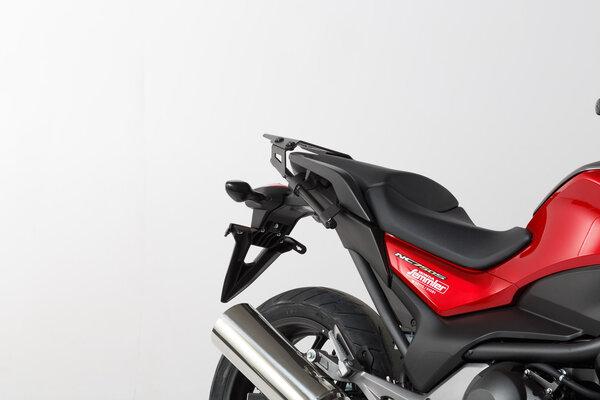 Kit valises TRAX ADV Gris. 37/37 l. Honda NC700 S/X, NC750 S/X.